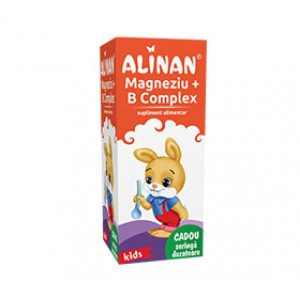 Alinan Magneziu + B Complex sirop (150ml), Fiterman