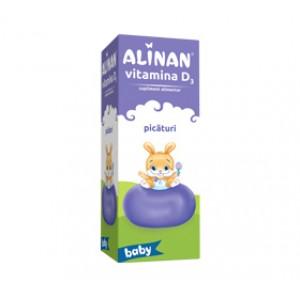 Alinan Vitamina D3, picaturi (10ml), Fiterman