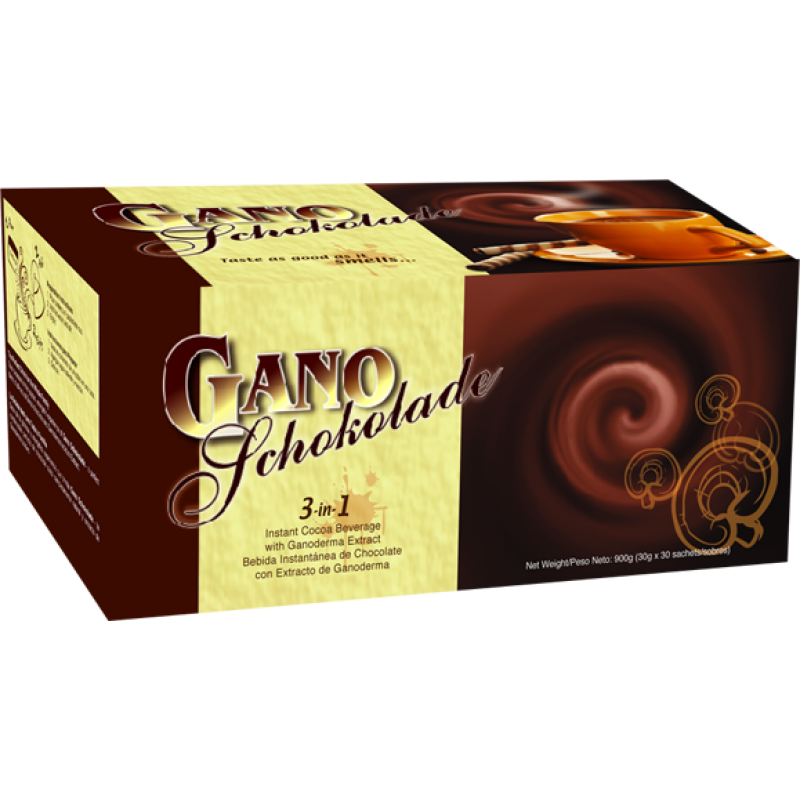 Gano Schokolade - Ciocolata calda (20 plicuri), Gano Excel