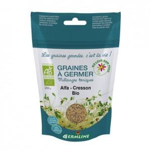 Alfalfa si creson seminte pt. germinat bio (150 grame), Germline
