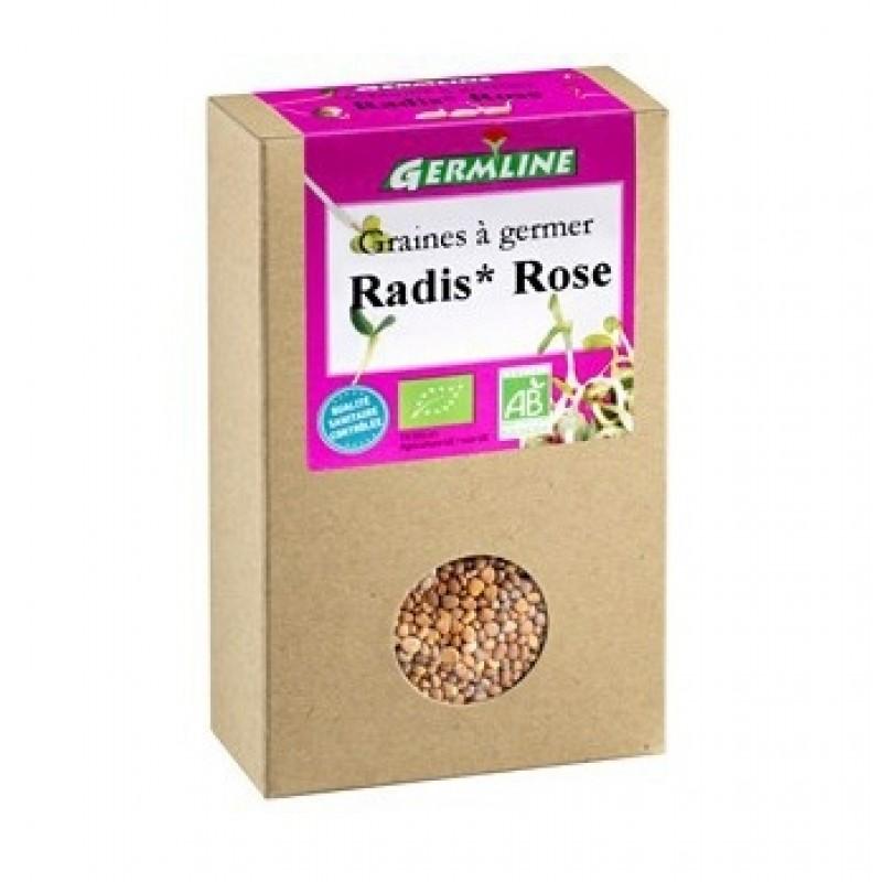 Ridiche rosie pentru germinat bio (100 g), Germline