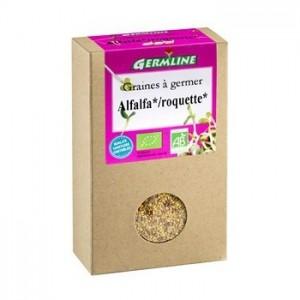 Mix alfalfa si rucola pentru germinat bio (150 g), Germline