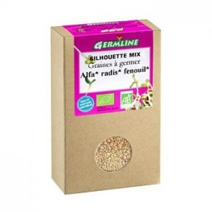Mix alfalfa, ridiche, fenicul pentru germinat bio (150 g), Germline