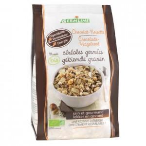Musli din cereale germinate ciocolata-alune bio (350 grame), Germline