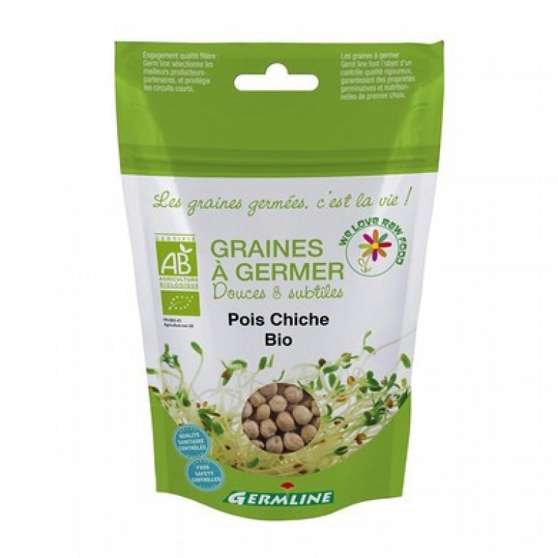 Naut boabe pentru germinat bio (200g), Germline