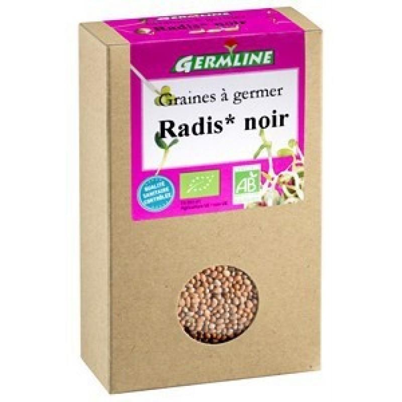 Ridiche neagra pentru germinat bio (150 grame), Germline