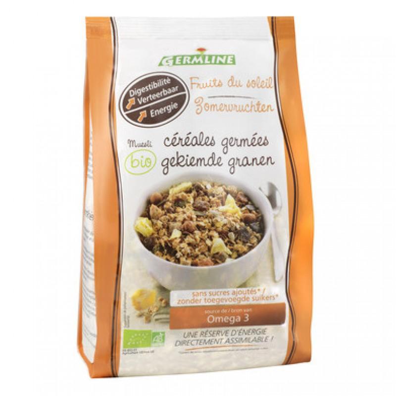 Musli din cereale germinate Fruits of the Sun bio (350 grame), Germline