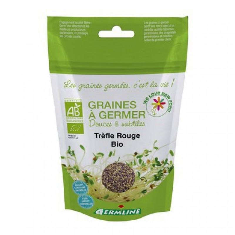 Trifoi rosu seminte pentru germinat bio (150g), Germline