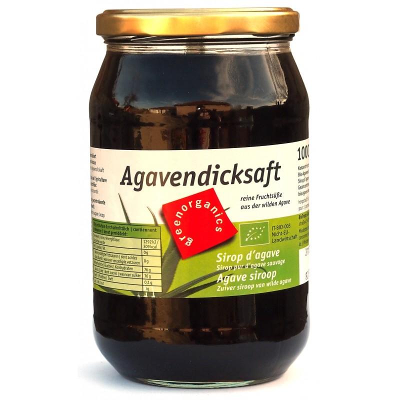 Sirop de agave concentrat bio (1 kg), Green Organics