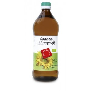 Ulei de floarea soarelui presat la rece bio (750 ml), Green Organics