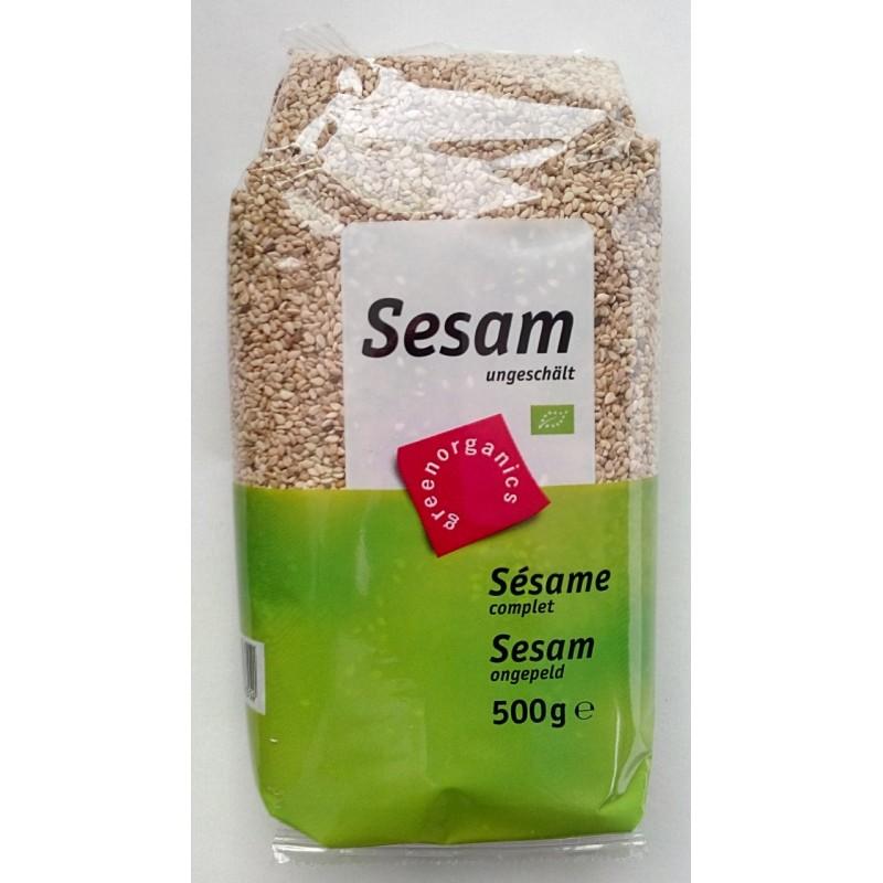 Seminte de susan integral raw bio (500g), GreenOrganics