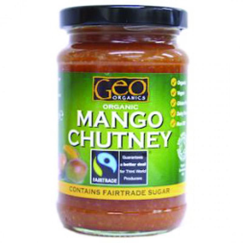 Sos de mango bio (300 grame), Geo Organics