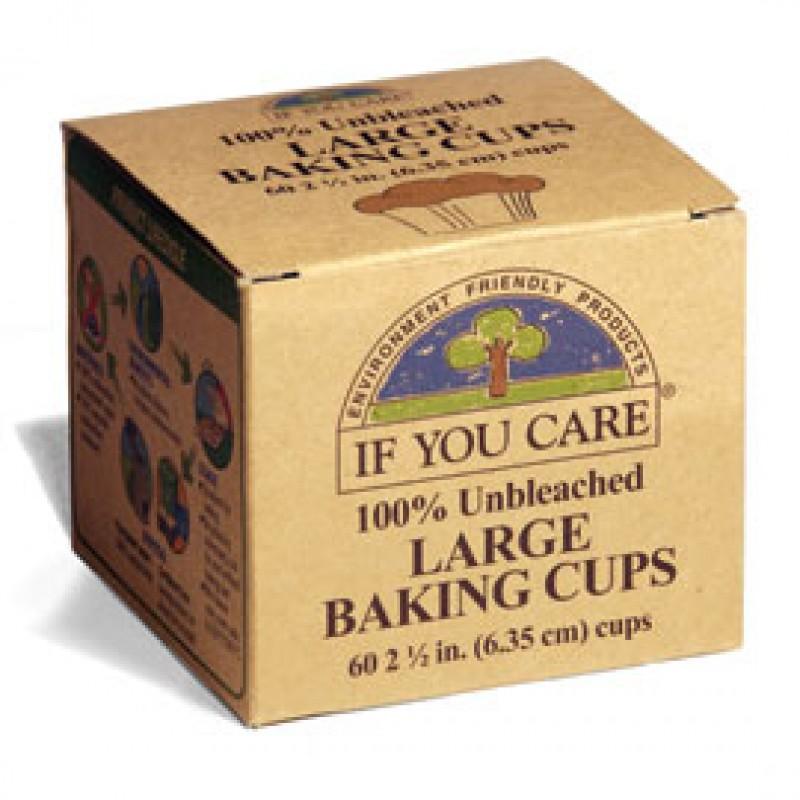 Hartie de copt briose ecologica (60 buc), If You Care