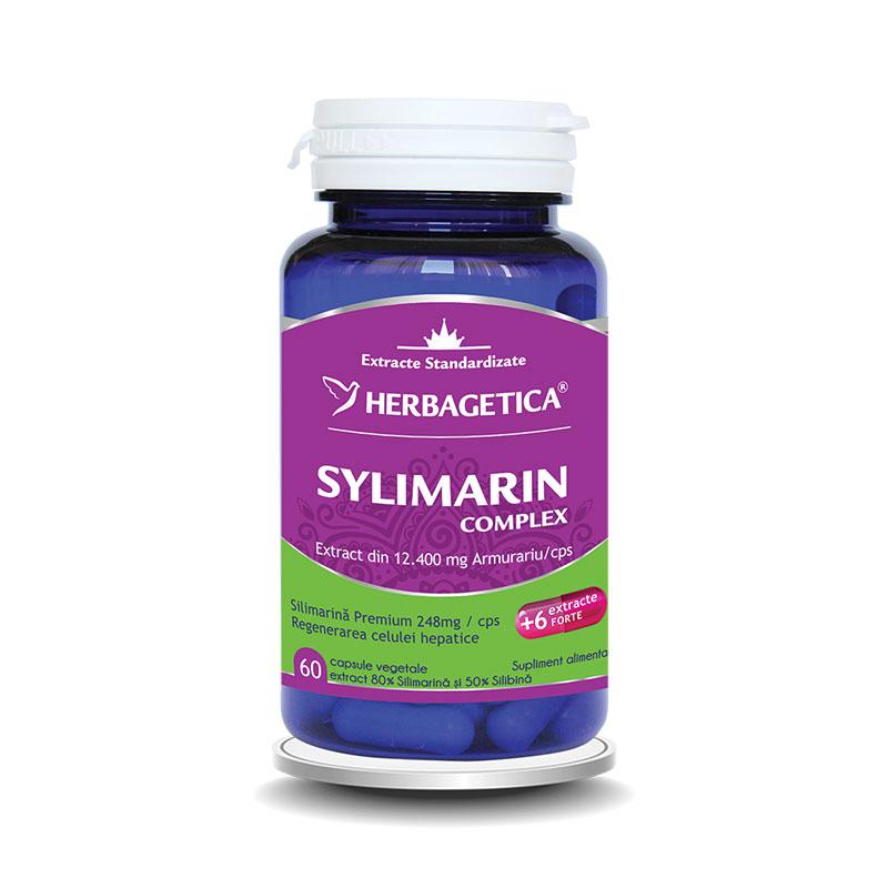 Silymarin 80/50 Detox Forte (60 capsule), Herbagetica