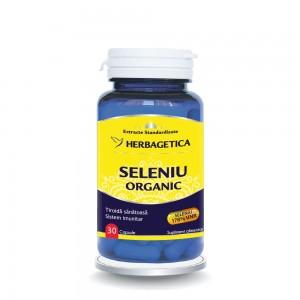 Seleniu Organic (30 capsule), Herbagetica