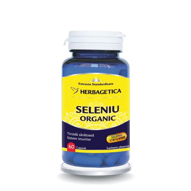Seleniu Organic (60 capsule), Herbagetica