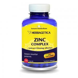 Zinc Complex (120 capsule), Herbagetica