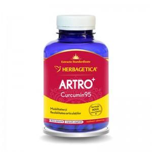 Artro Curcumin 95 (120 capsule), Herbagetica