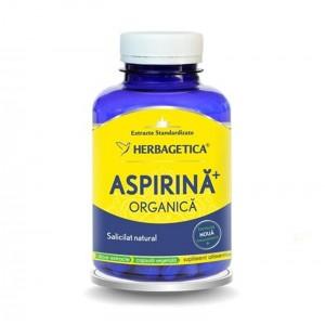 Aspirina Organica (120 capsule), Herbagetica