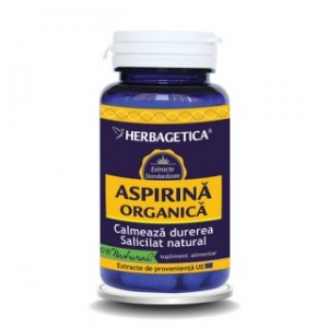 Aspirina Organica (60 capsule), Herbagetica