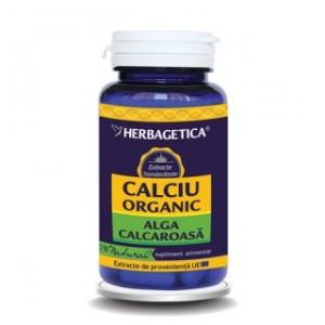 Calciu Organic (60 capsule), Herbagetica