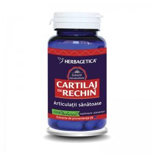 Cartilaj de Rechin (60 capsule), Herbagetica