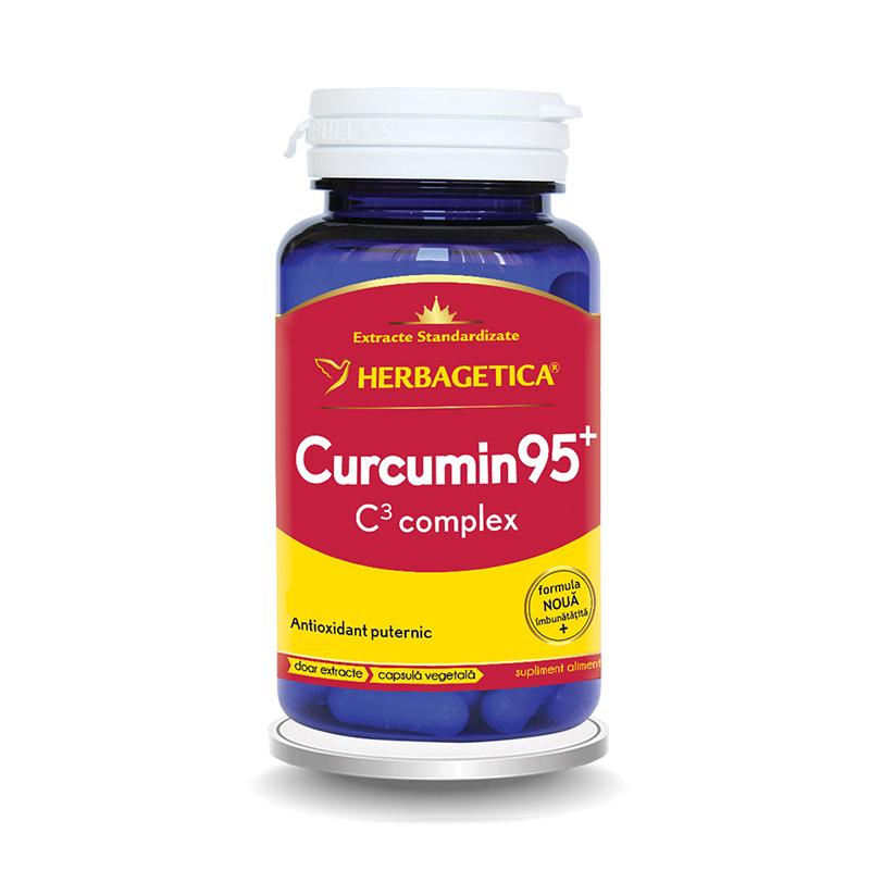 Curcumin 95 C3 Complex (30 capsule), Herbagetica