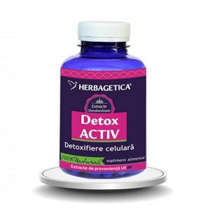 Detox Activ (120 capsule), Herbagetica