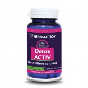 Detox Activ (30 capsule), Herbagetica