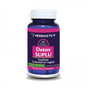 Detox Suplu (30 capsule), Herbagetica