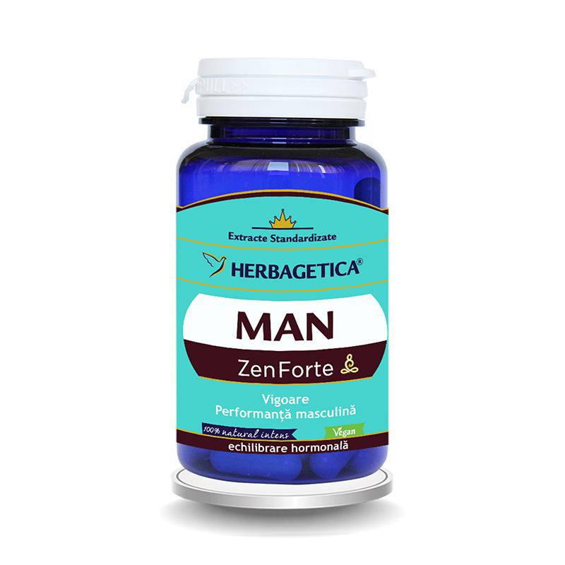 Man Zen Forte (30 capsule), Herbagetica