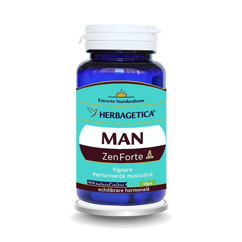 Man Zen Forte (60 capsule), Herbagetica