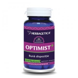 Optimist+ (30 capsule), Herbagetica
