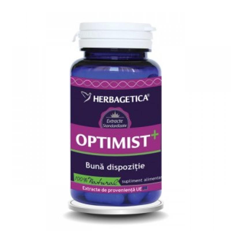 Optimist+ (30 capsule), Herbagetica
