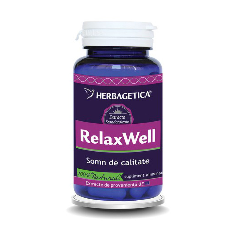 Relax Well (60 capsule), Herbagetica