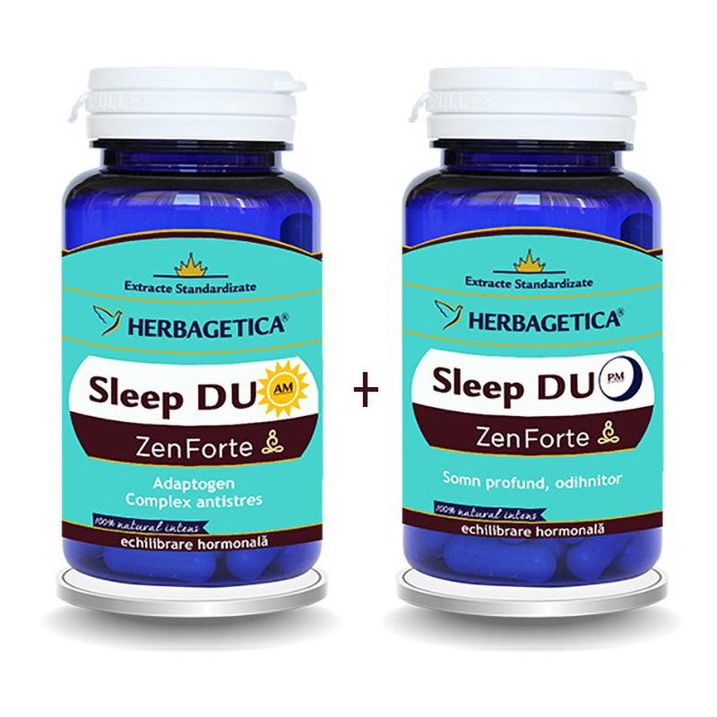 Sleep Duo AM/PM  (30 capsule + 30 capsule), Herbagetica