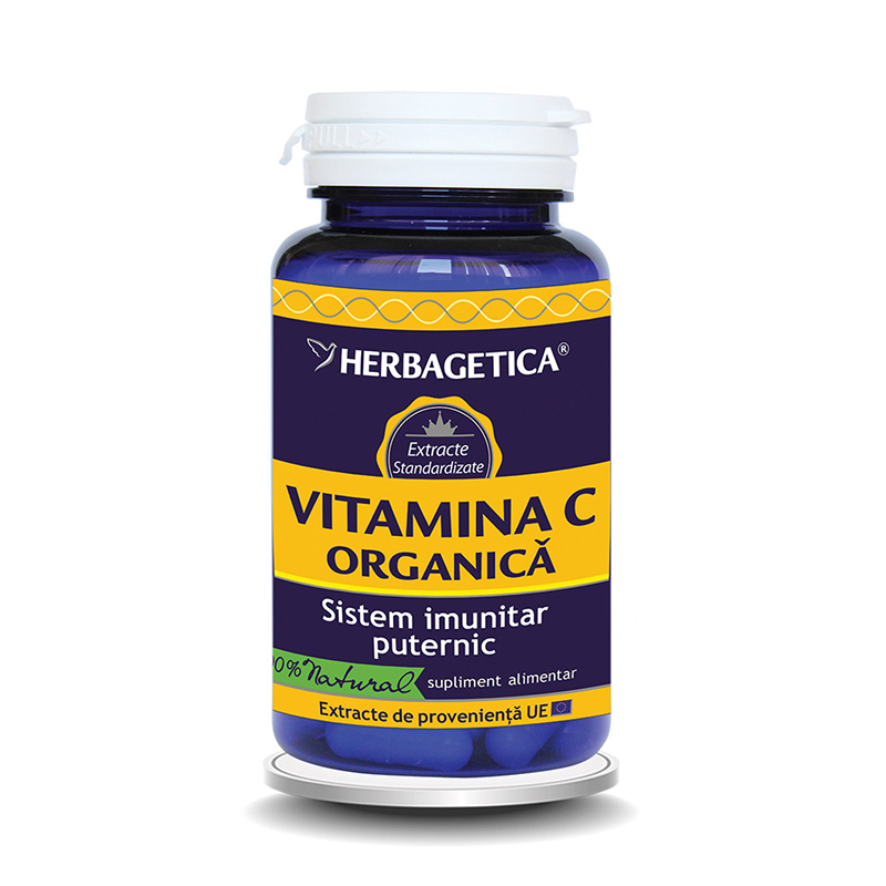 Vitamina C Organica (60 capsule), Herbagetica