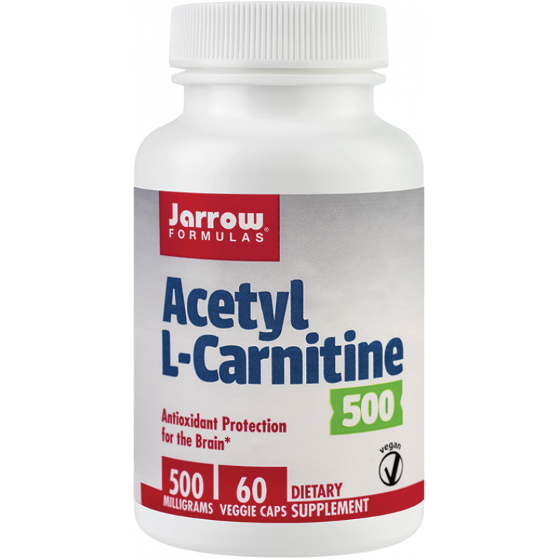 Acetyl L-Carnitine 500mg (60 capsule), Jarrow Formulas