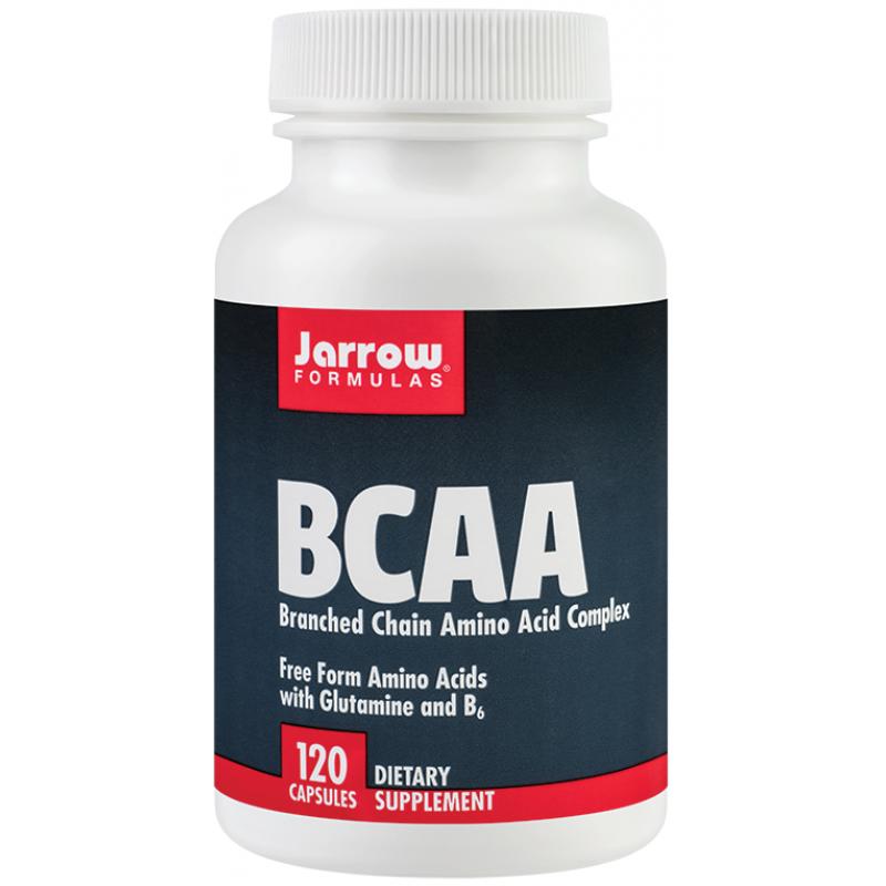 BCAA Branched Chain Aminoacid Complex (120 capsule), Jarrow Formulas