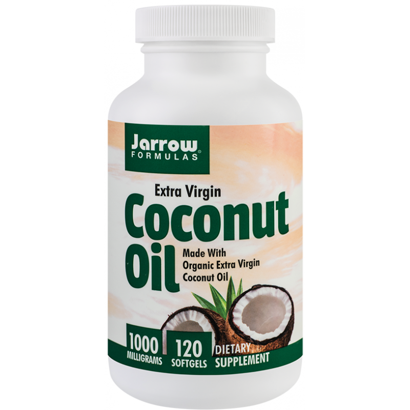Coconut Oil Extra Virgin 1000mg (120 capsule), Jarrow Formulas