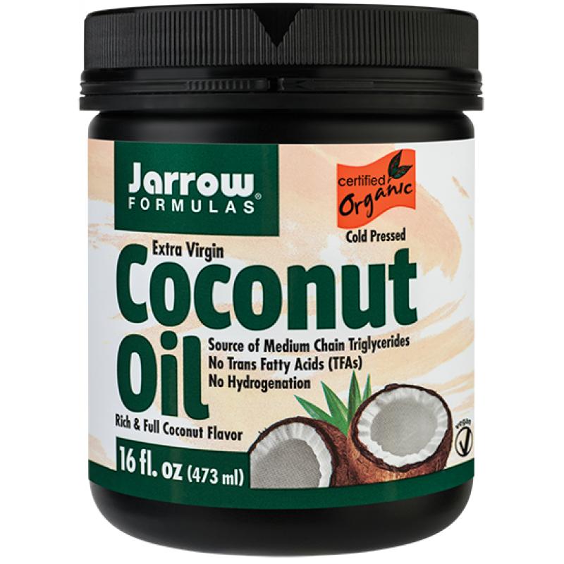 Coconut Oil Extra Virgin (454g), Jarrow Formulas