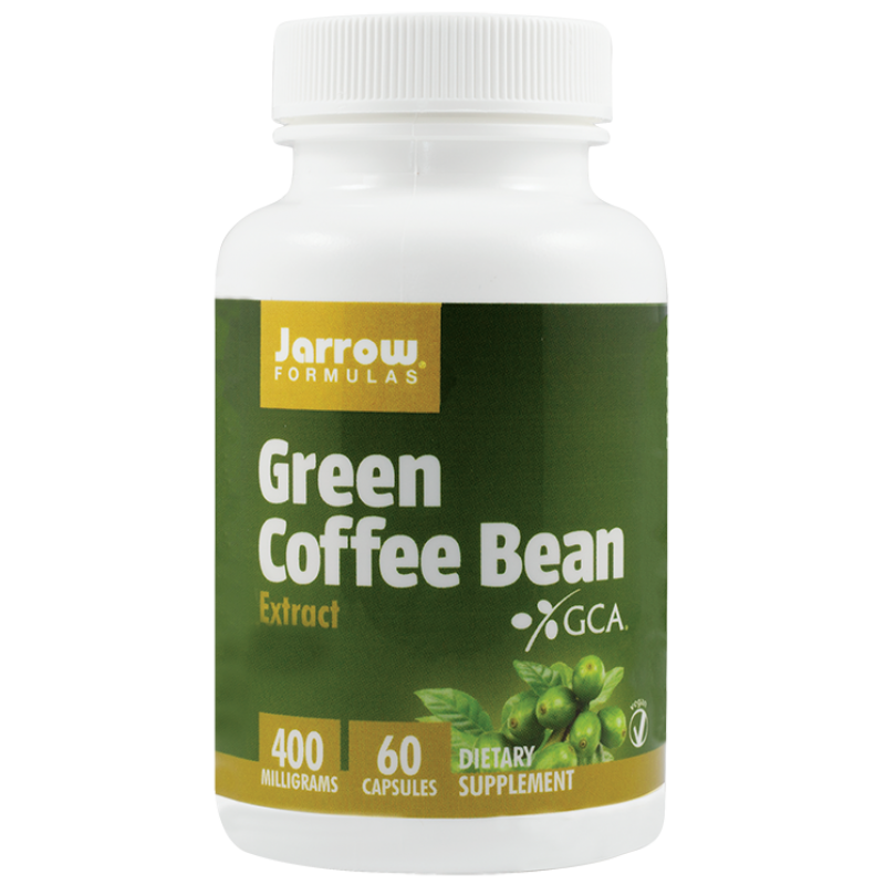 Green Coffe Bean 400mg (60 capsule vegetale), Jarrow Formulas
