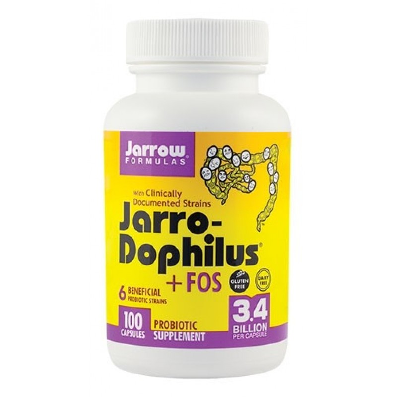 Jarro Dophilus + FOS (100 tablete), Jarrow Formulas