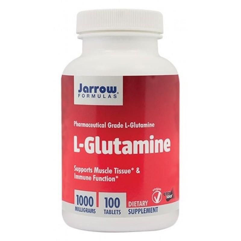 L-Glutamine 1000mg (100 tablete), Jarrow Formulas