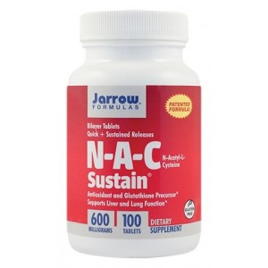 N-A-C Sustain (100 tablete), Jarrow Formulas