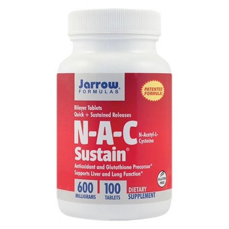 N-A-C Sustain (100 tablete), Jarrow Formulas