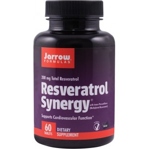 Resveratrol Synergy 200 (60 tablete), Jarrow Formulas