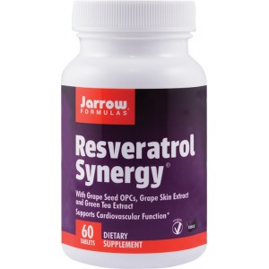 Resveratrol Synergy (60 tablete), Jarrow Formulas