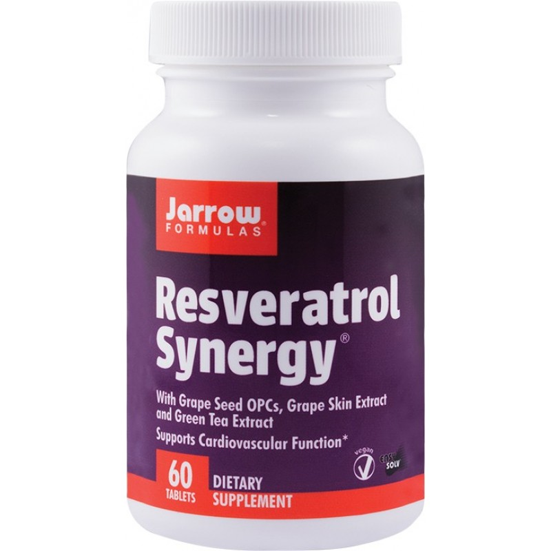 Resveratrol Synergy (60 tablete), Jarrow Formulas