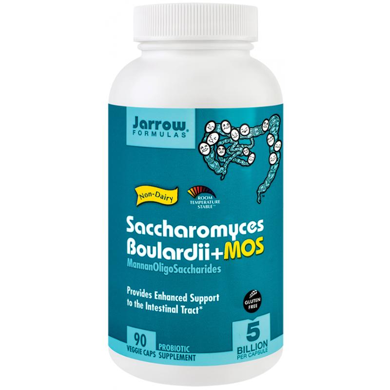 Saccharomyces Boulardii + MOS (90 capsule), Jarrow Formulas